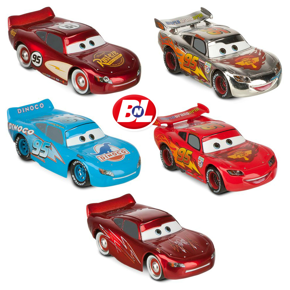 WELCOME ON BUY N LARGE: Cars 2: McQueen-O-Rama Cars