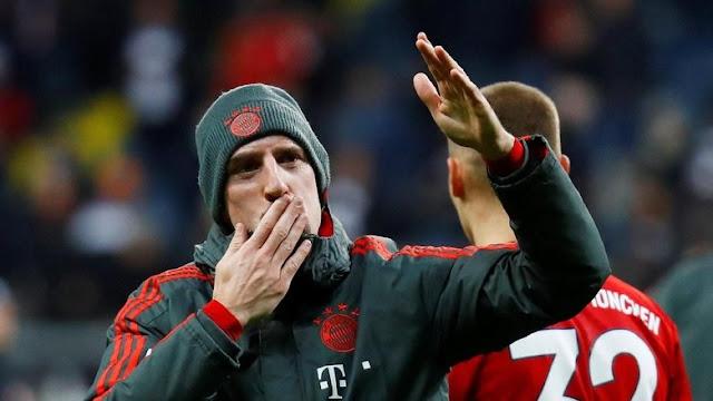 Patroli303 : Ribery Seperti Beri Isyarat Akan Meninggalkan Bayern