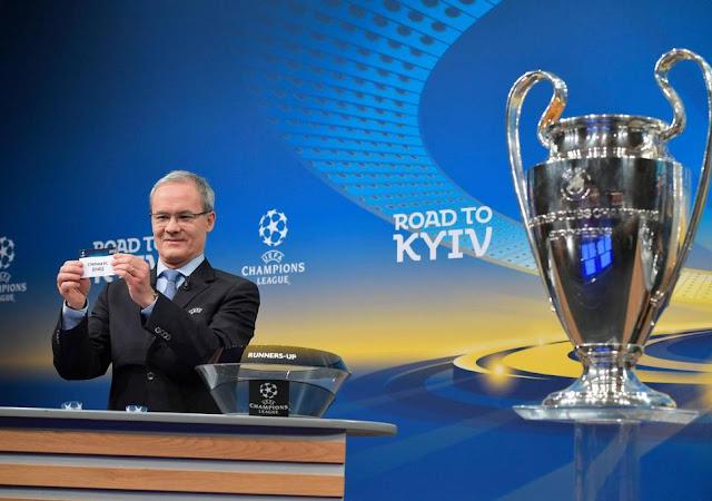 مواجهات نارية في قرعة ربع النهائي من دوري أبطال أوروبا
