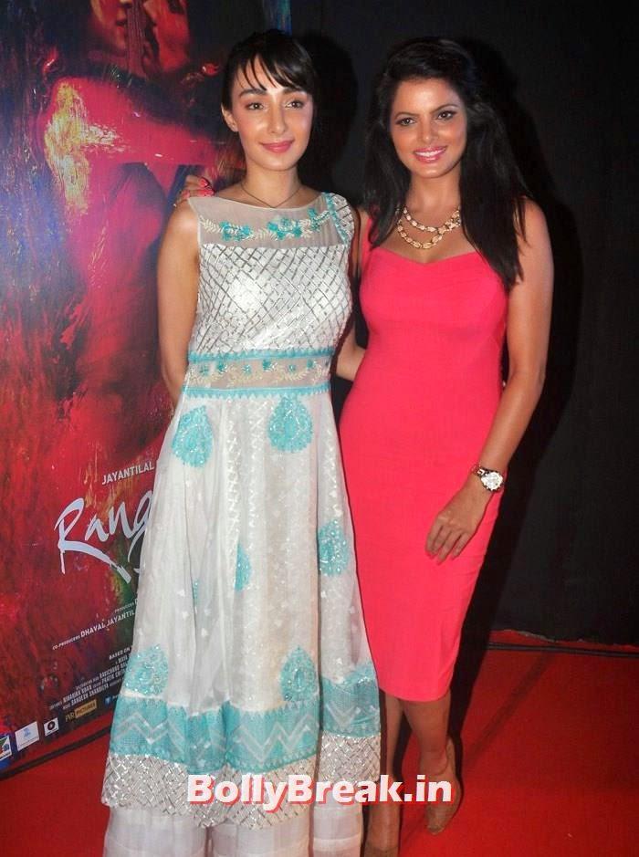 Ferena Wazeir, Tripta Parashar, Pics from 'Rang Rasiya' Music Launch