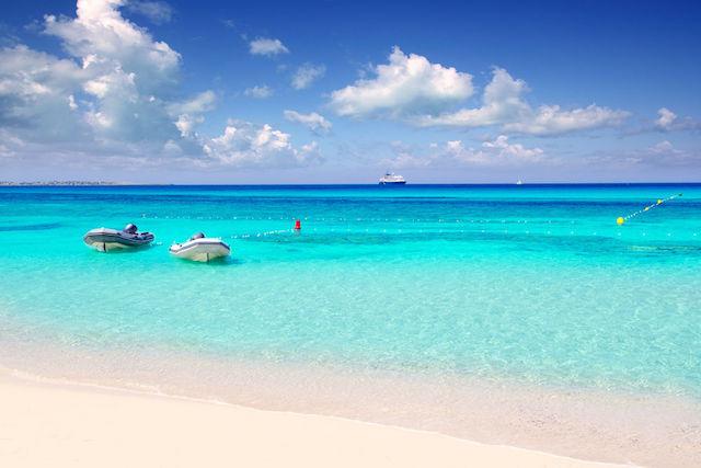 Ilha Formentera na Espanha
