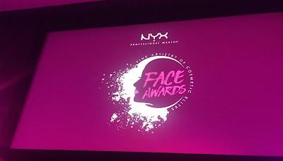 Gala NYX Face Awards, czyli pierwszy event w życiu!