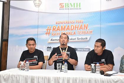 BMH Ajak Masyarakat RaihPahala Terbaik di Bulan Ramadhan