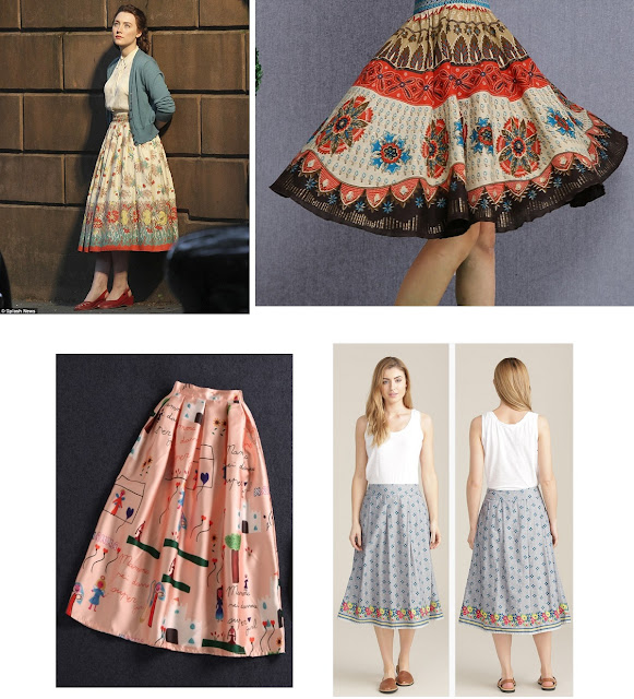 Brooklyn 2015 Saoirse Ronan 20th Century Fox 1950s dresses skirts