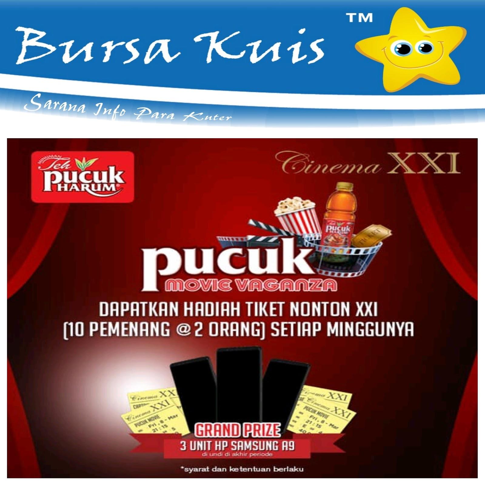Kuis Teh Pucuk Movie Vaganza Berhadiah Samsung A9 - Kuis & Lomba ...