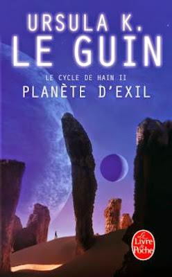 """""""Planète d'exil"""" - Ursula Le Guin - science fiction planet space opera"""