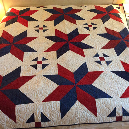 Mimisc's Big Star Quilt Free Pattern