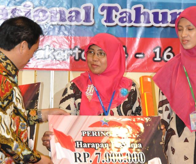 Pustakawan Aceh Juara Terbaik Harapan 1 Nasional