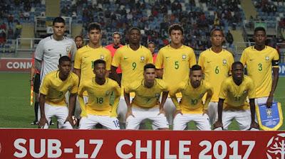 Brazil vs Mali U17 Live Stream