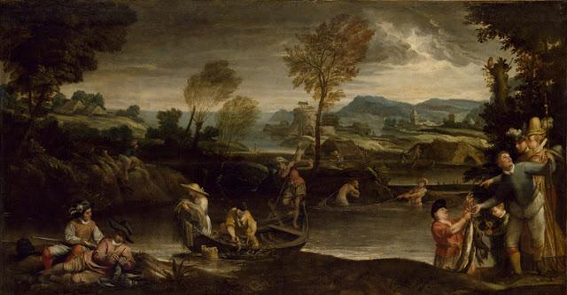 Annibale Carracci - La pesca - c. 1588
