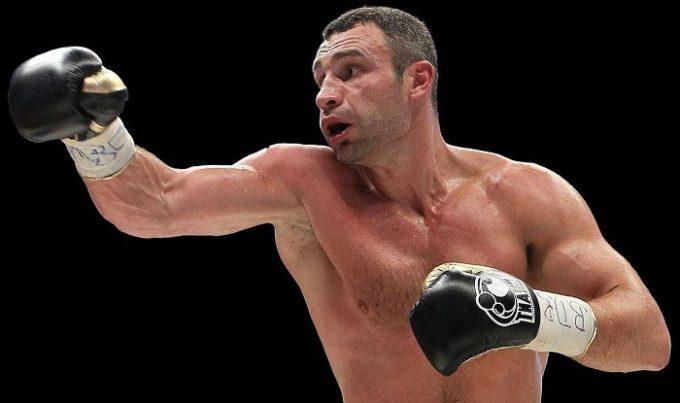 الملاكم  فيتالي كليتشكو