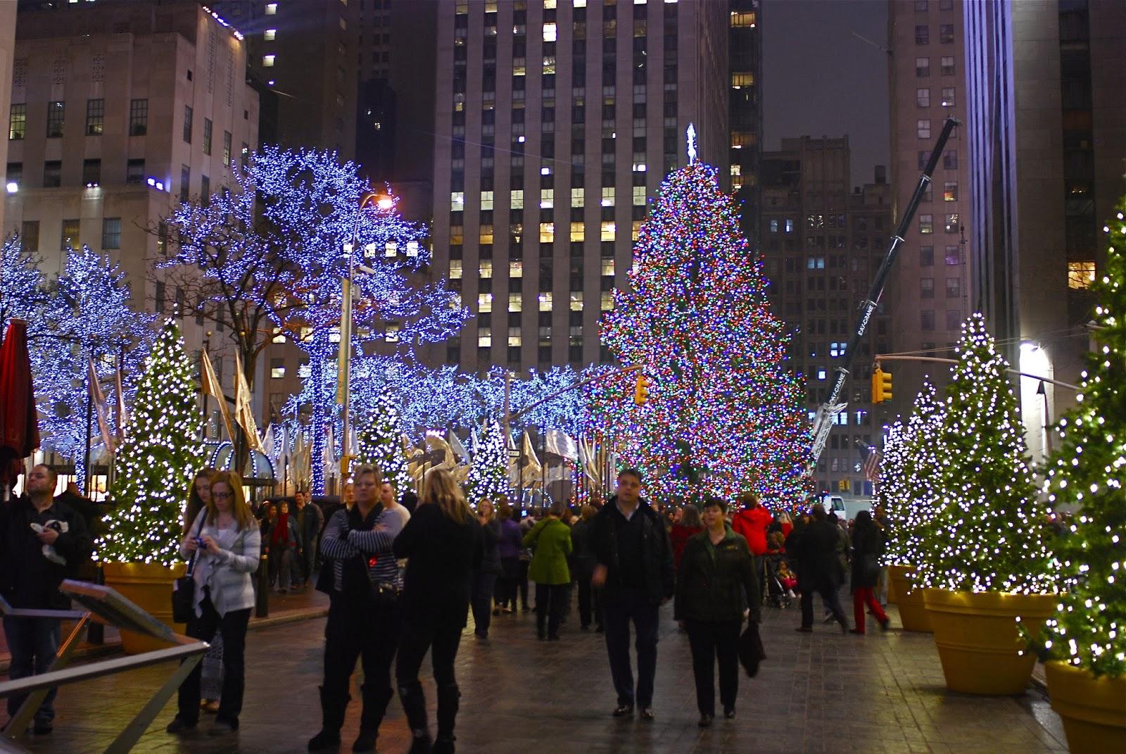 Nyc Nyc Rockefeller Center Christmas Tree