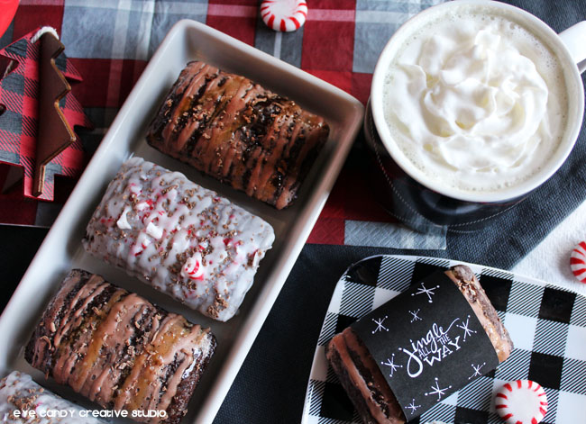 holiday morning, morning coffee, holiday baking, christmas decor