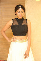 Roshni Prakash in a Sleeveless Crop Top and Long Cream Ethnic Skirt 117.JPG