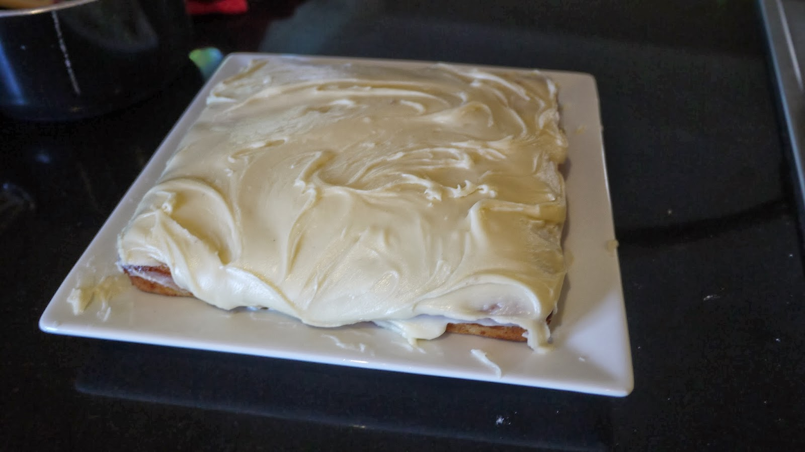 Banana Cake with Buttercream Icing Recipe