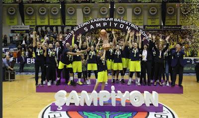 KBSL - şampiyon Fenerbahçe
