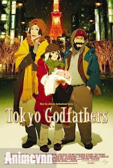 Tokyo Godfathers -Một Đêm Tuyết Phủ -  2003 Poster