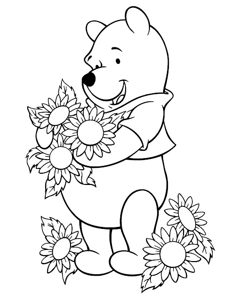 Sunflower Coloring Pages  Google Search