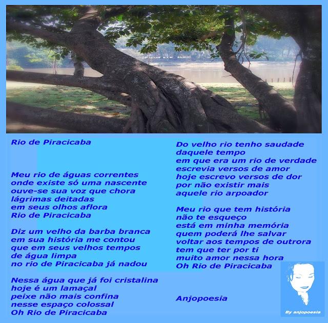 a8bfb75411 Sensibilidade a navegar com poesias  Rio Piracicaba SP
