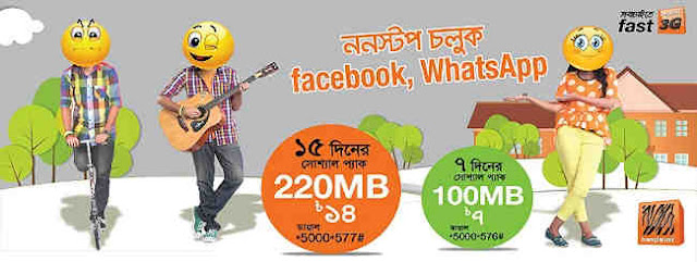 Banglalink Social Internet Packs