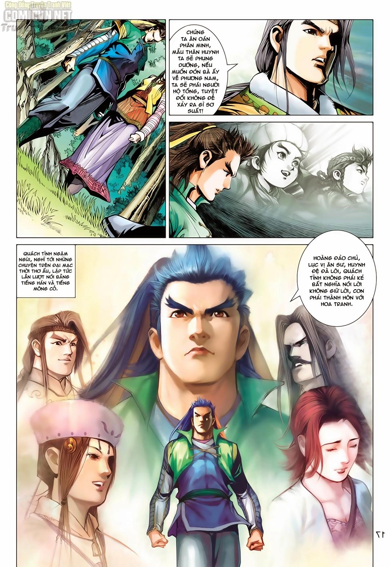 Anh Hùng Xạ Điêu anh hùng xạ đêu chap 65: cái bang tân chủ trang 17