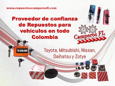 Repuestos Toyota Colombia