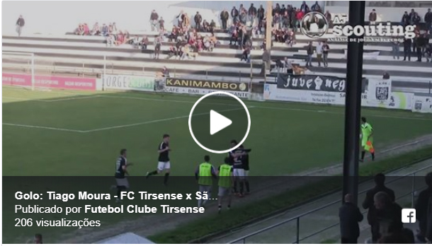 """VÍDEO: Veja esta """"maldade""""  de Tiago Moura do Tirsense"""
