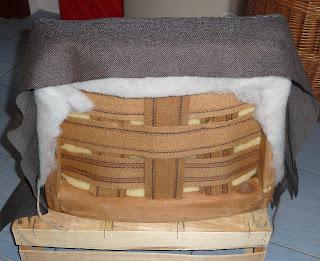 jak wyremontować stary fotel z prl