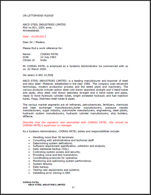 Resume For Engineers Pdf – Work Experience Certificate Template