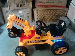 xe máy xúc điện cho bé mẫu mới tại nha trang