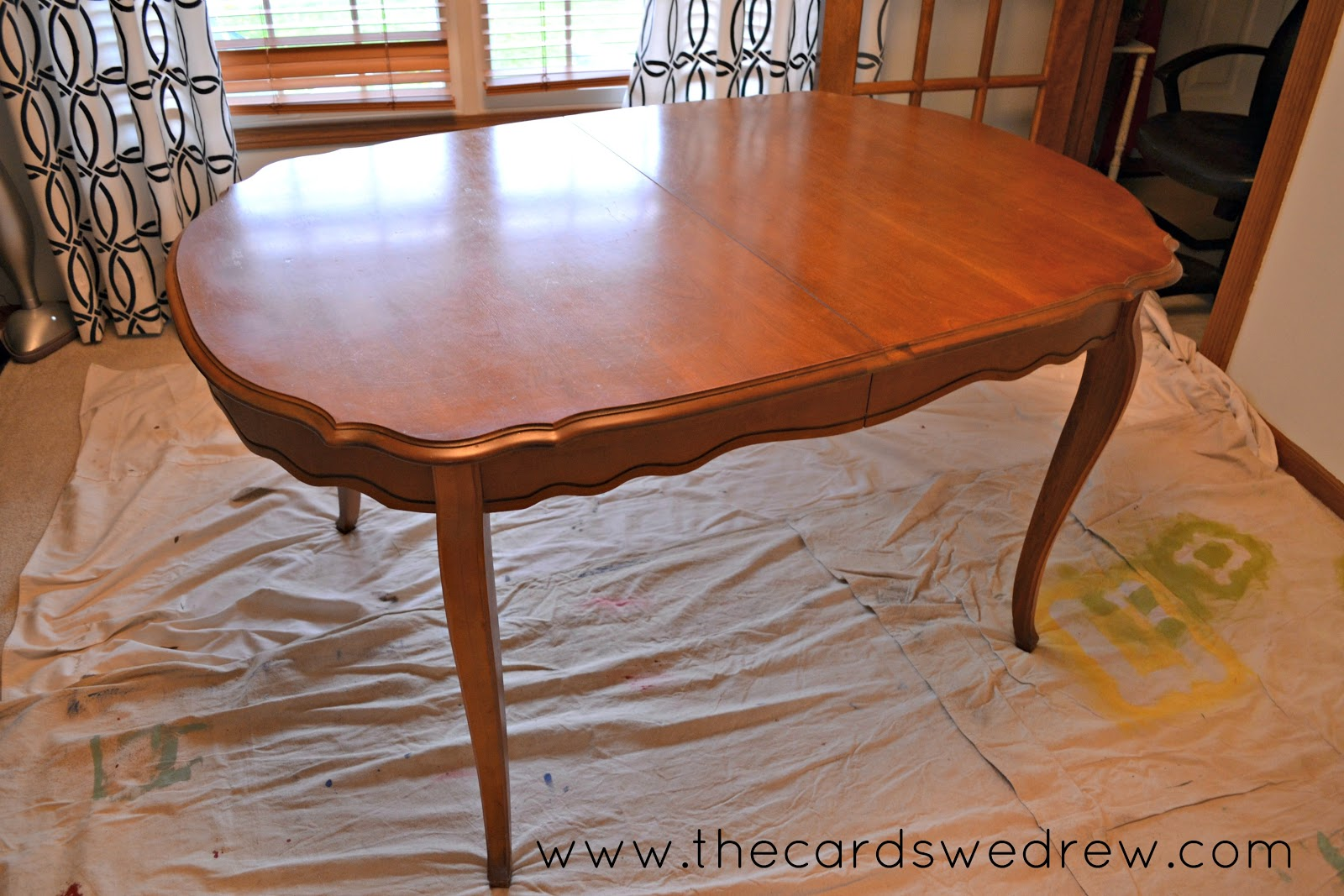 Craigslist Table And Chairs Chalk Paint Dining Room Table Upcycle Adventure - The ...