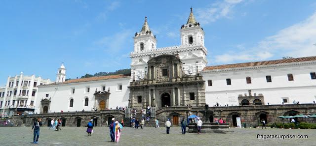 Igreja de São Francisco - Quito - Equador