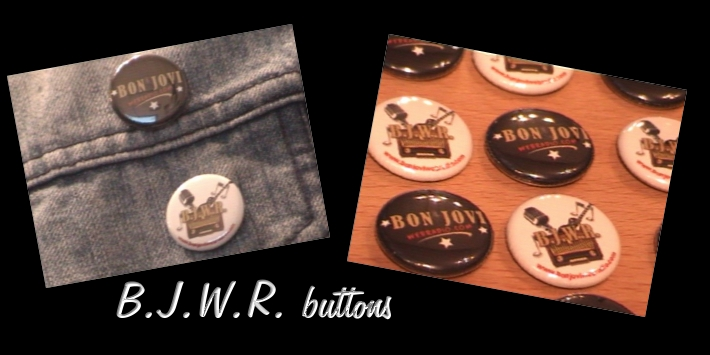 B.J.W.R. buttons on B.J.W.R. store