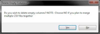 delete columns