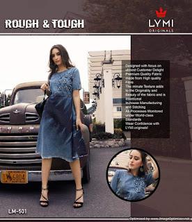 Lymi Rough and Tough Denim Kurtis Dealer. buy 2019 Latest Denim Rough and tough kurtis Twitter, facebook, Amazon, Flipcart, kessi, Instagram