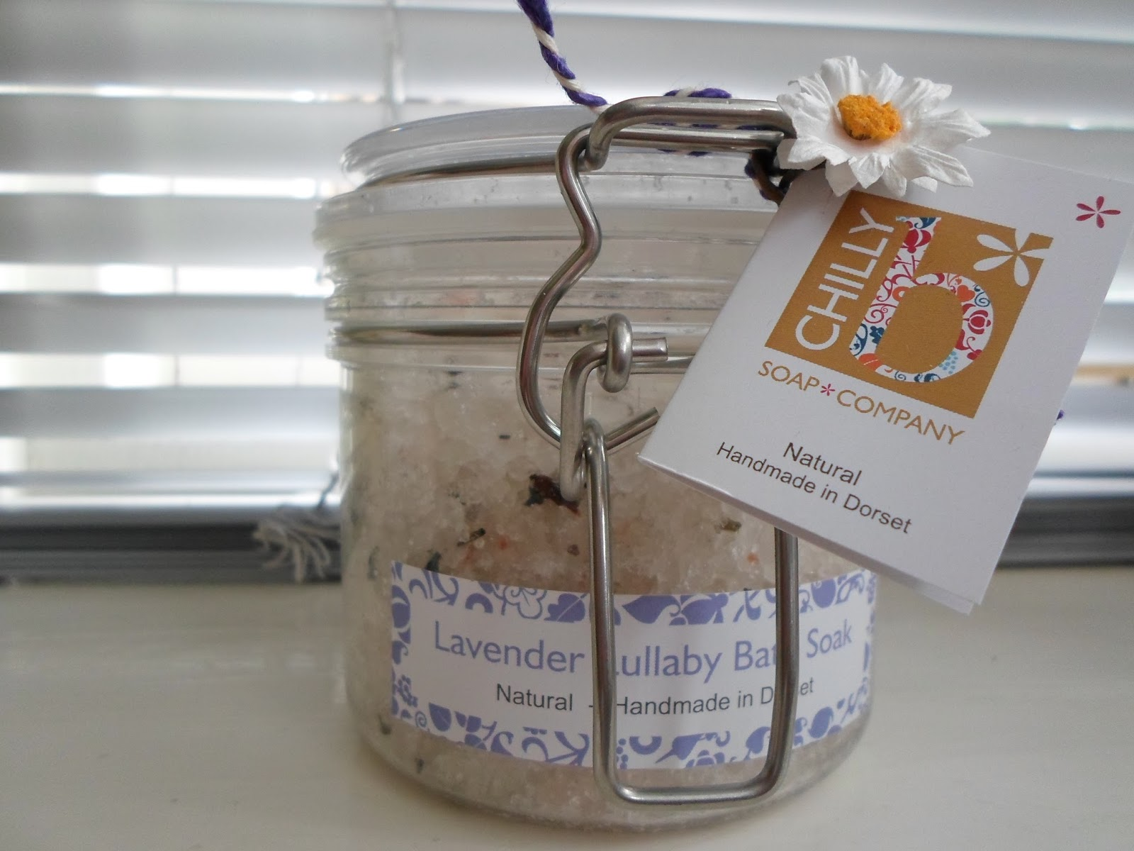 Chilly B Lavender Lullaby Luxury Bath Soak
