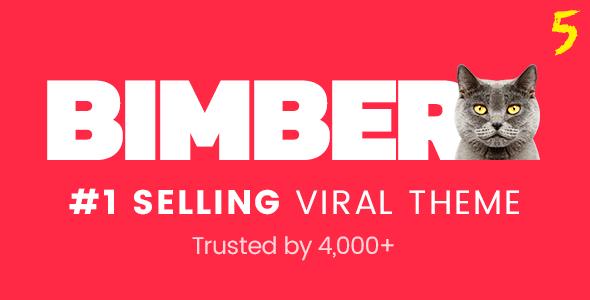 تحميل قالب BIMBER V5.2.2 المدفوع مجاناً WORDPRESS THEME 2018