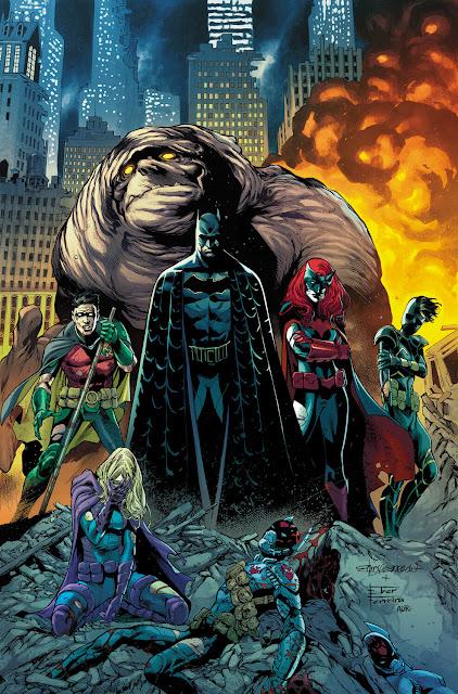 batman family dc comics