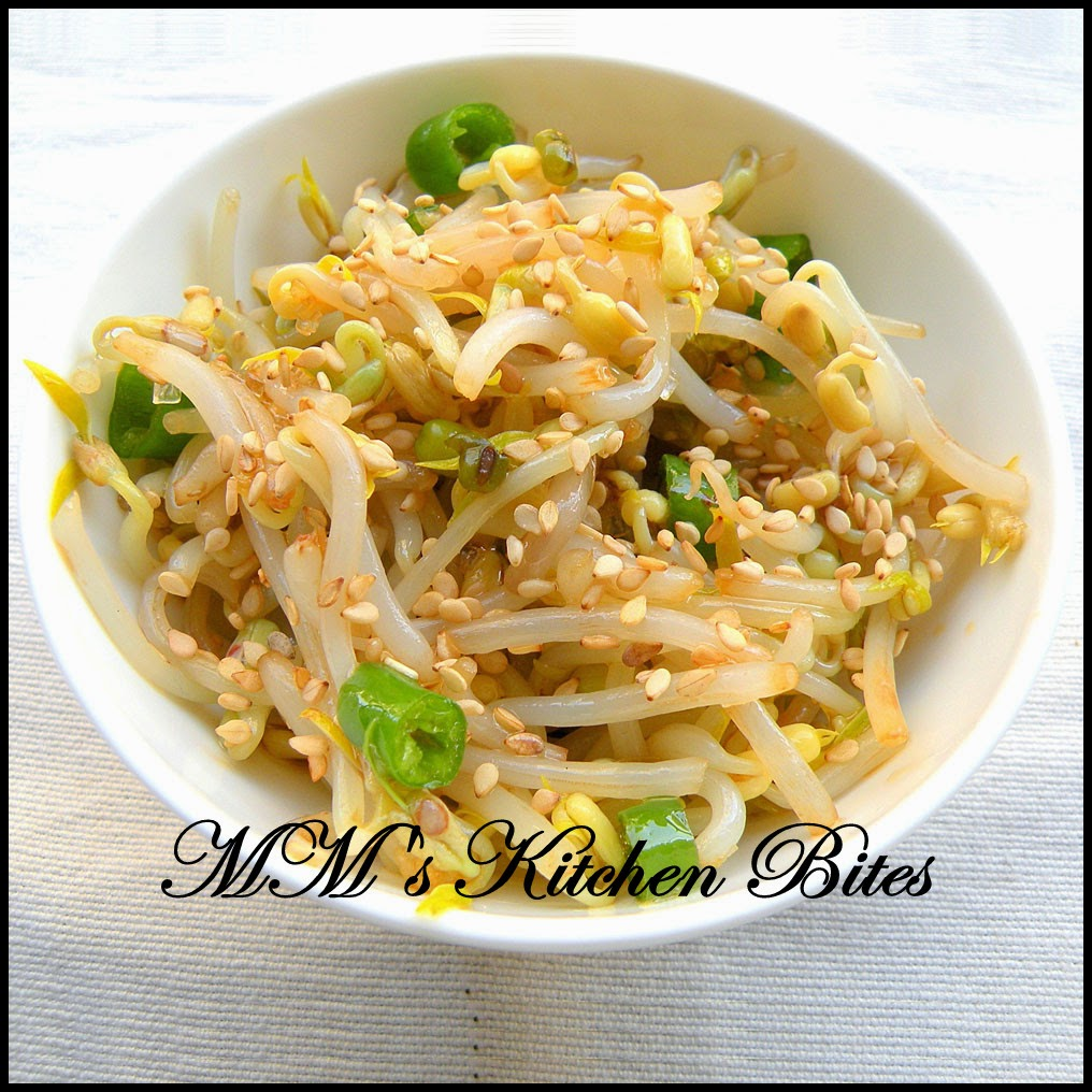 Korean Bean Sprout Salad mmskitchenbites
