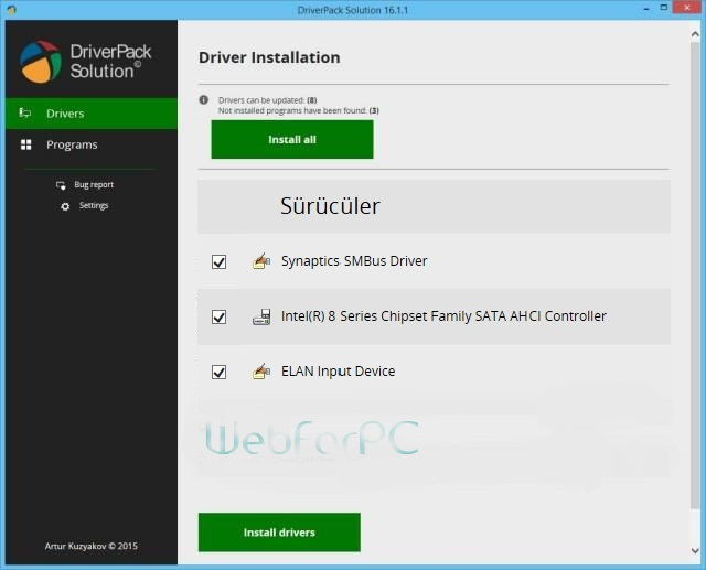 DriverPack Solution 17.4.5 Final 2016 Free Download
