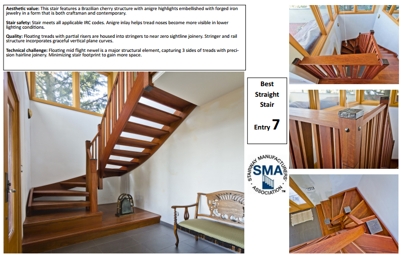 Seattle Stair & Design: Seattle Stair & Design Wins National Award