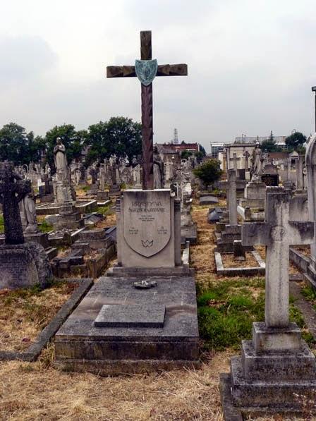 Grób Krystyny Skarbek w Londynie