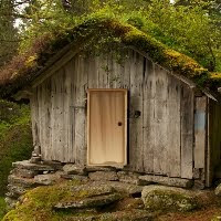 GFG Grass Roofed Hut Esca…