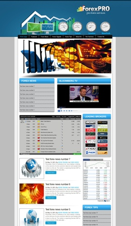 Forex PRO Free WordPress themes
