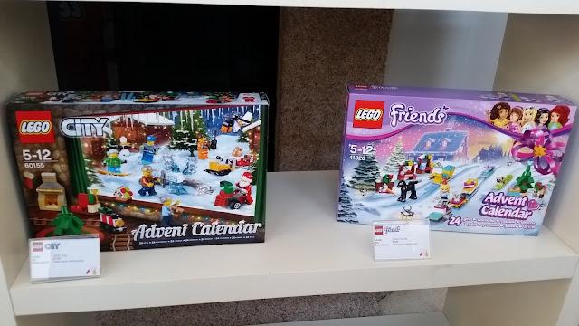 Novità giochi 2017: LEGO calendario avvento