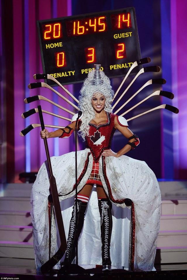 miss canada  traje tipico ridiculo universo 2015 2016