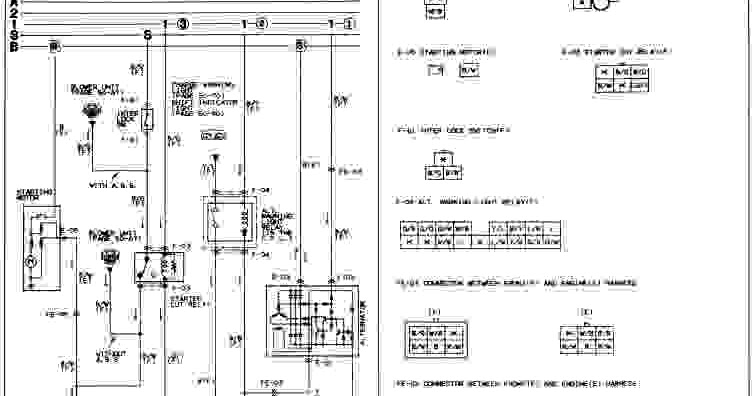 1991 mazda 626 wiring diagram free download 1988 mazda rx-7 wiring diagram - wiring diagram service ... #10