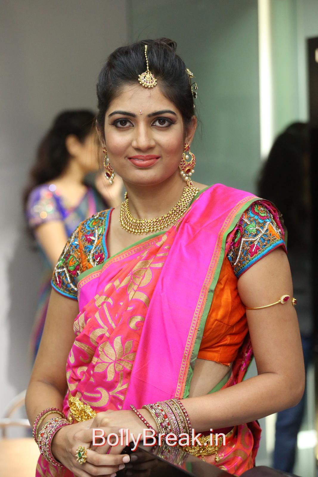 Akanksha Unseen Stills, Akanksha Hot Pics from Bridal Dream Make up At Lakme Salon