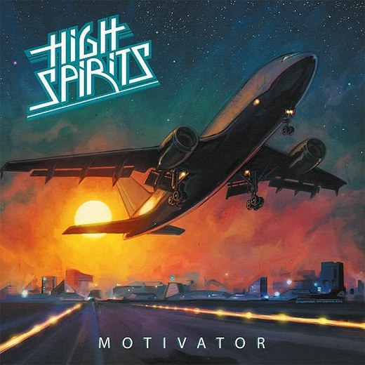HIGH SPIRITS - Motivator (2016) Full retail