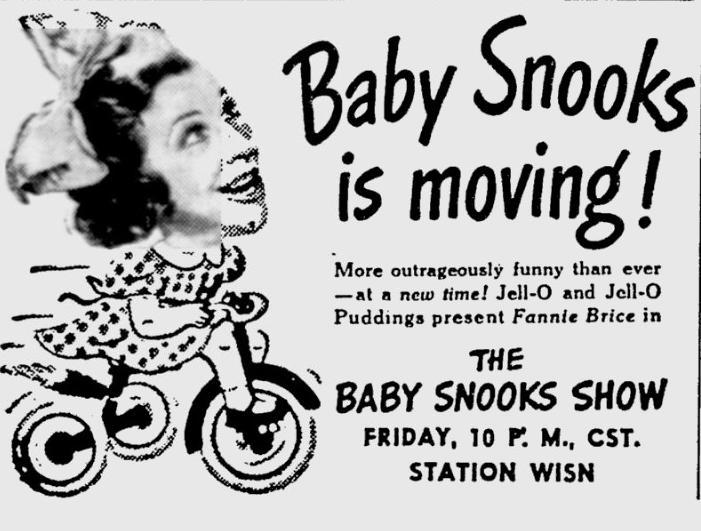 OTR Advertisements: Baby Snooks (Jell-o)